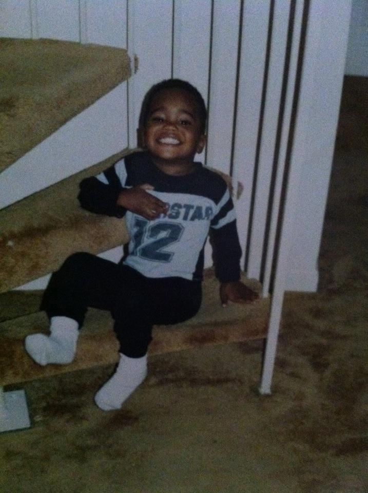 Sebastian Cummings as a baby