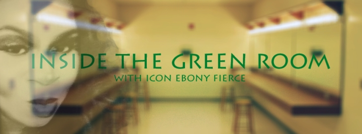 inside the green room with icon